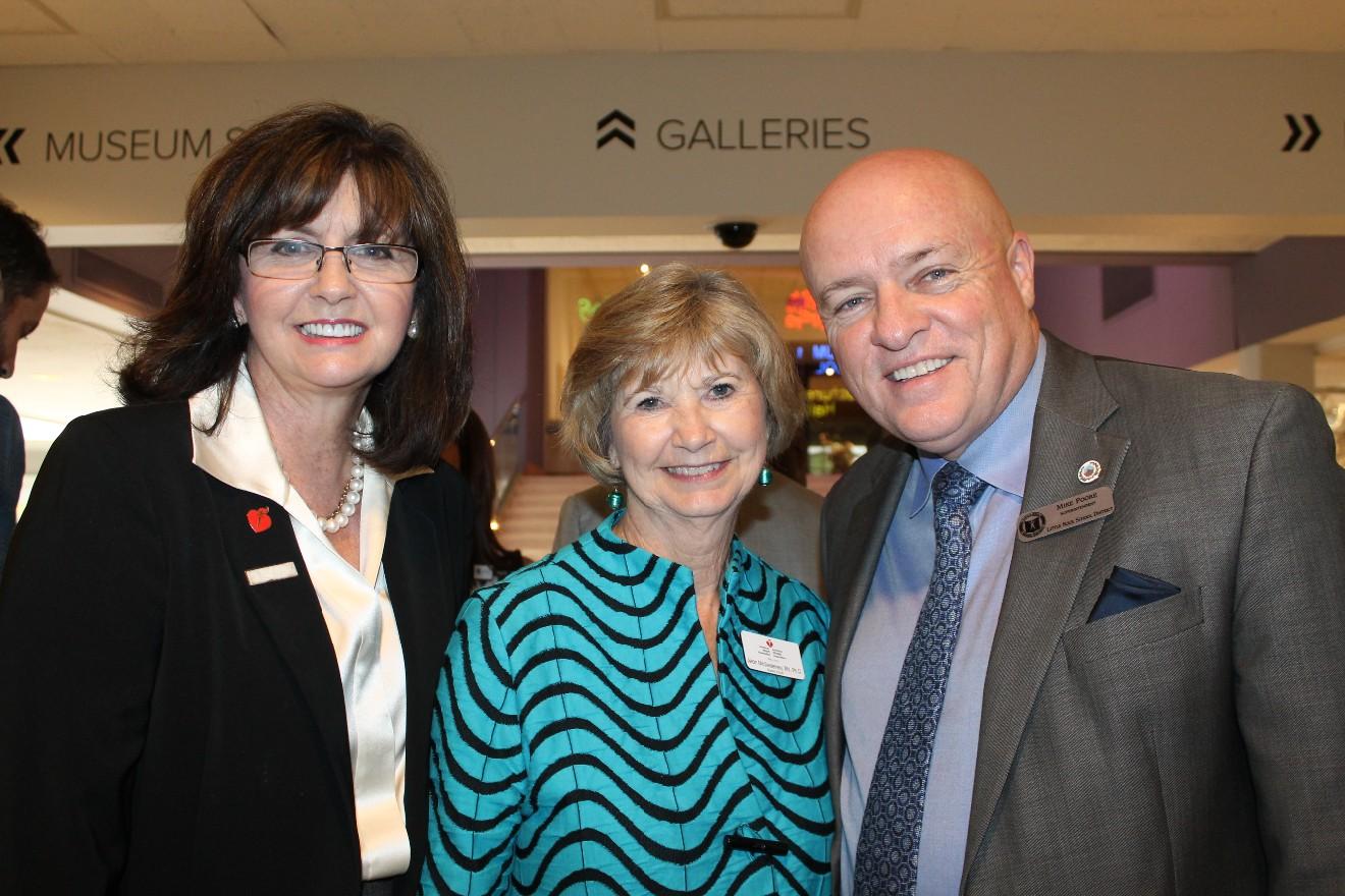 Joyce Taylor, Jean McSweeney, Mike Poore