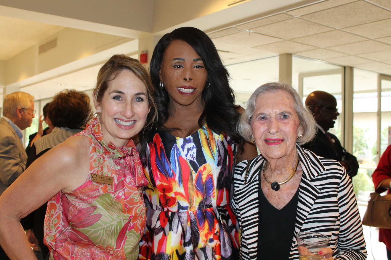 Kelly Flemming, Linda Rowe-Thomas, Jeane Hamilton