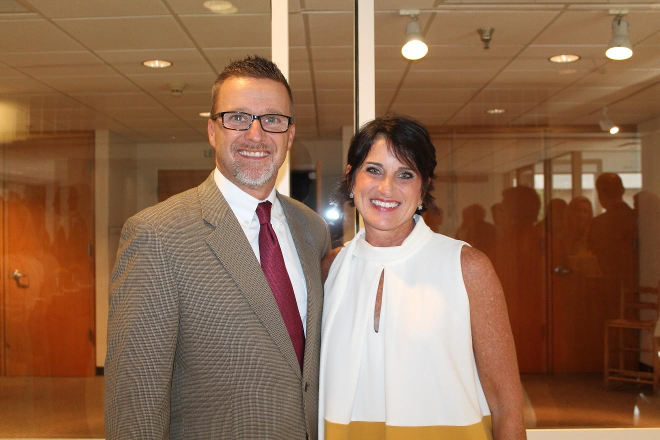 Jeff and Lori Standridge