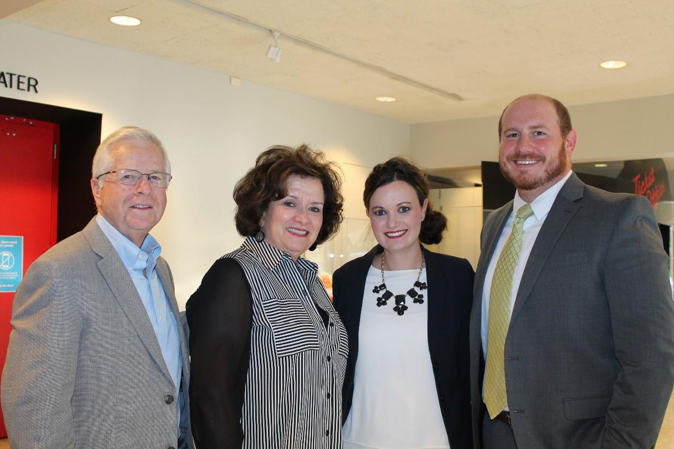 Weldon and Ann Johnson, Jenna Recker, Kris Goldman