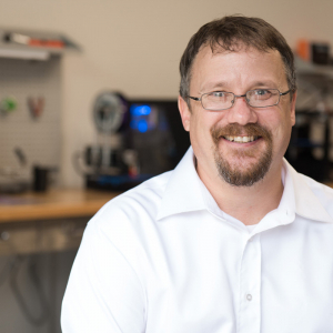 Jason Huselton Joins UCA's Makerspace (Movers & Shakers)