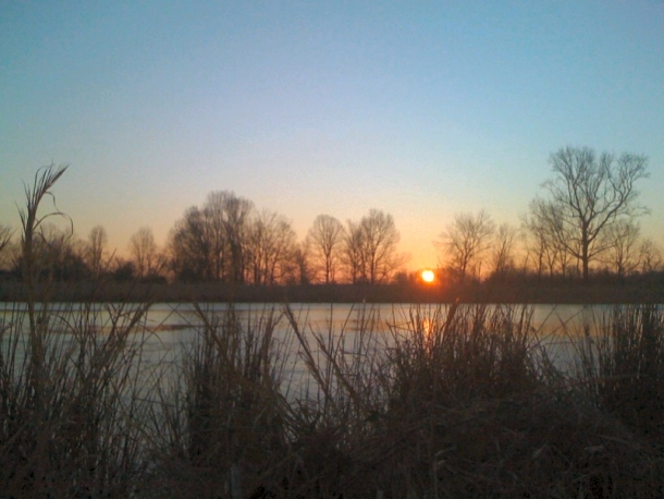 Sunrise in the Duck Hole