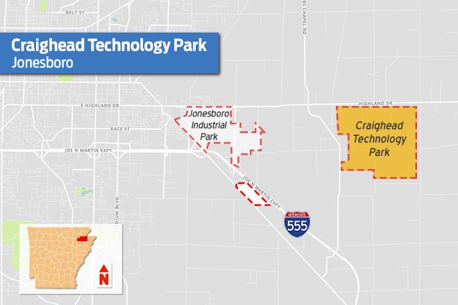 $2.5M Grant Will Expand 'Landlocked' Storage at Jonesboro Tech Park
