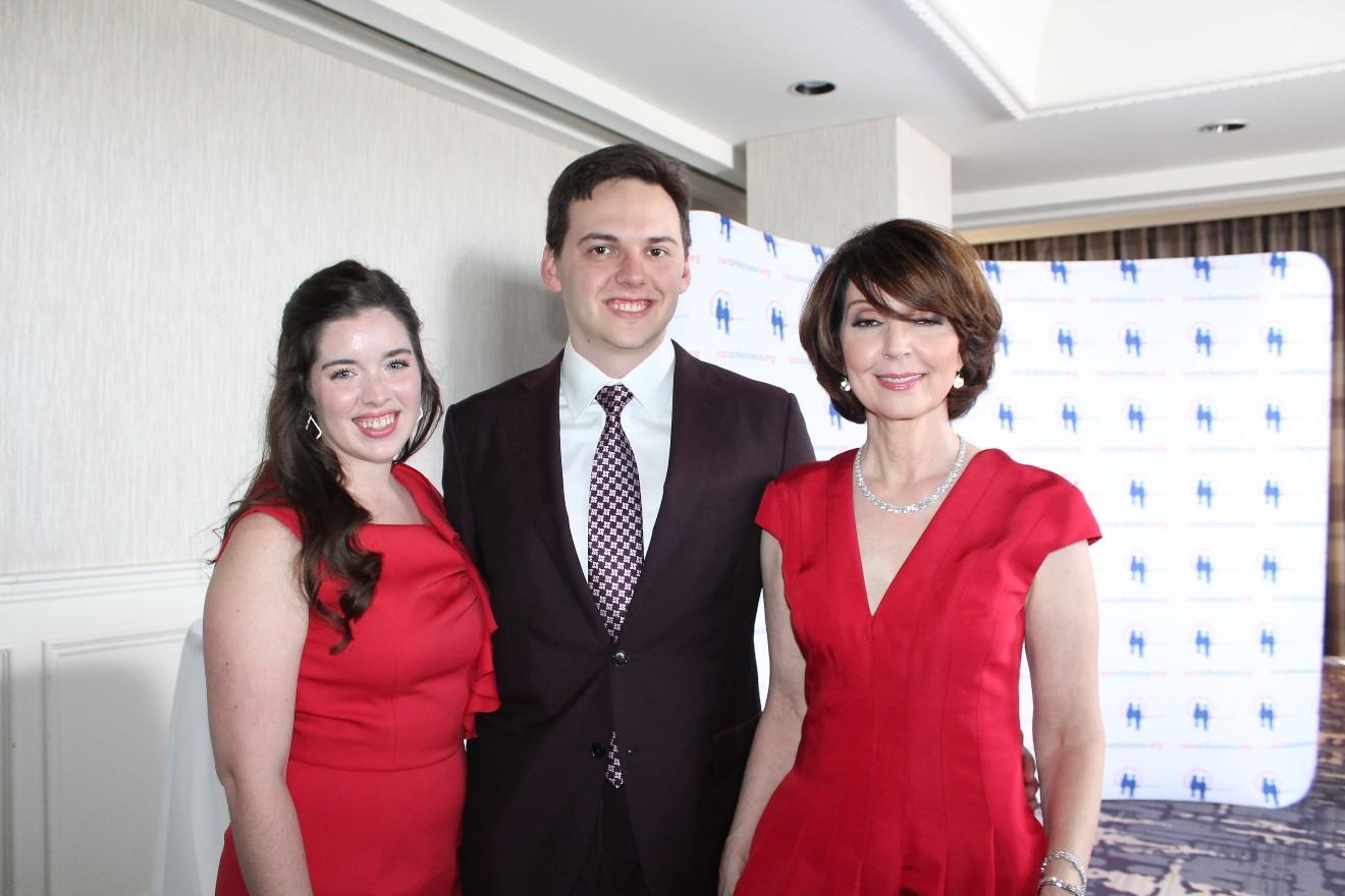 Taylor Rockefeller, Colin Rockefeller, Lisenne Rockefeller