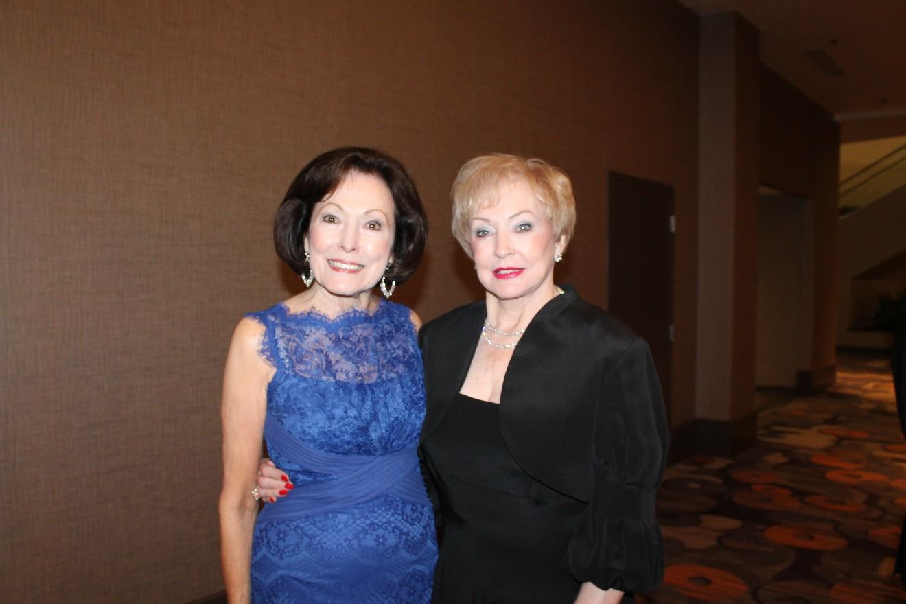 Gloria Redman and Shirley Miller