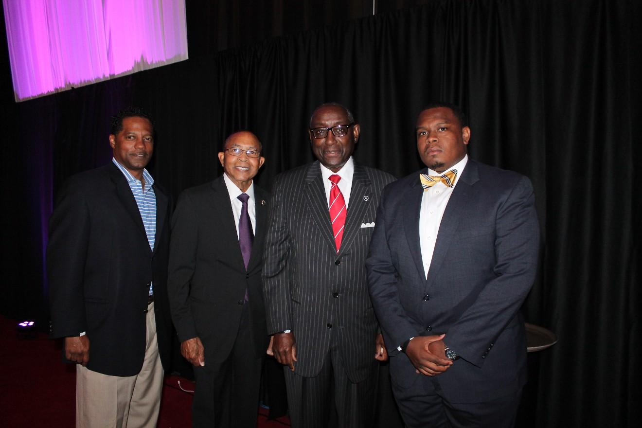 Richard Mays Jr., Harvey Wiley Sr., Sherman Tate, Lee Miller