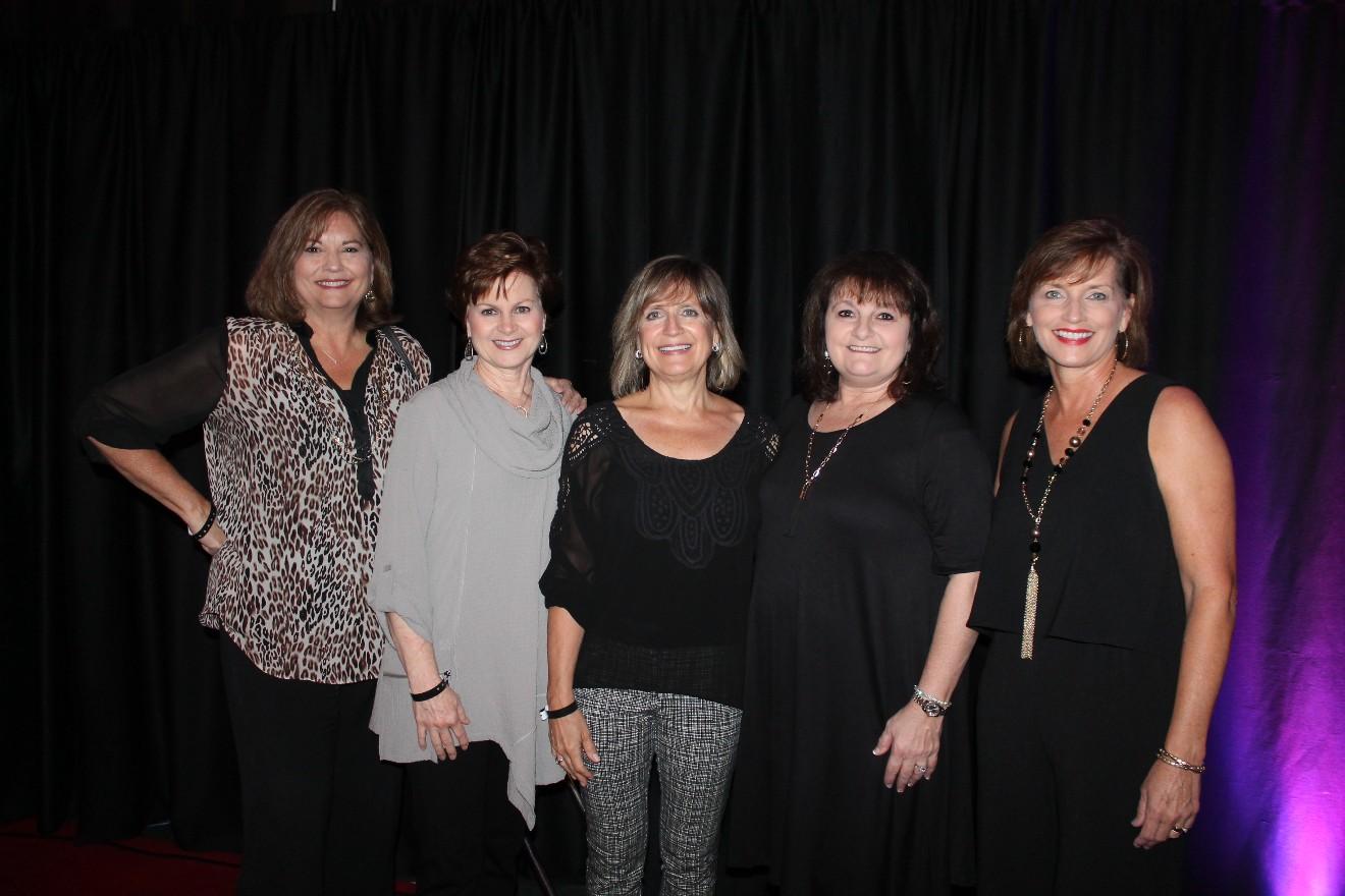 Vickie Davie, Karen Carroll, Sandy Copeland, Jani Beggs, Terri Fielder
