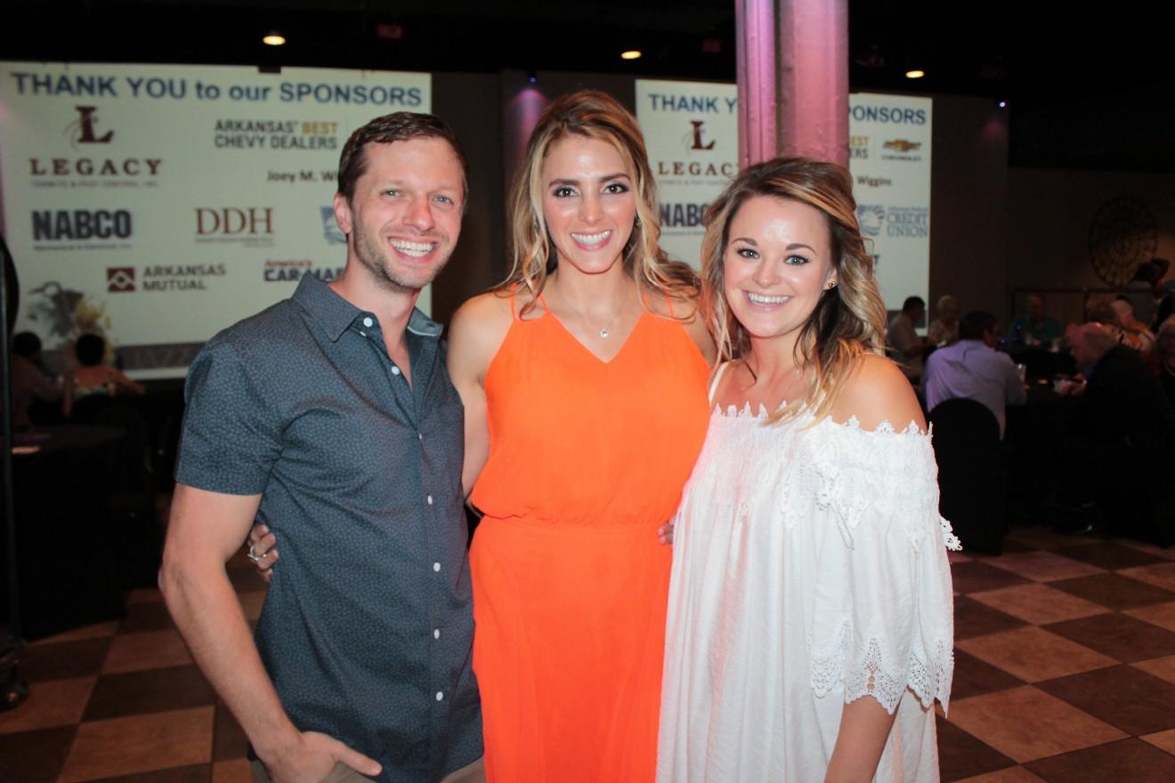 Clay Carnes, Karen Richardson, Chelsea Hale