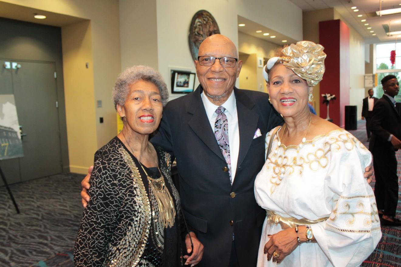 Wanda Hamilton, Harry Roberson, Carolyn Davidson