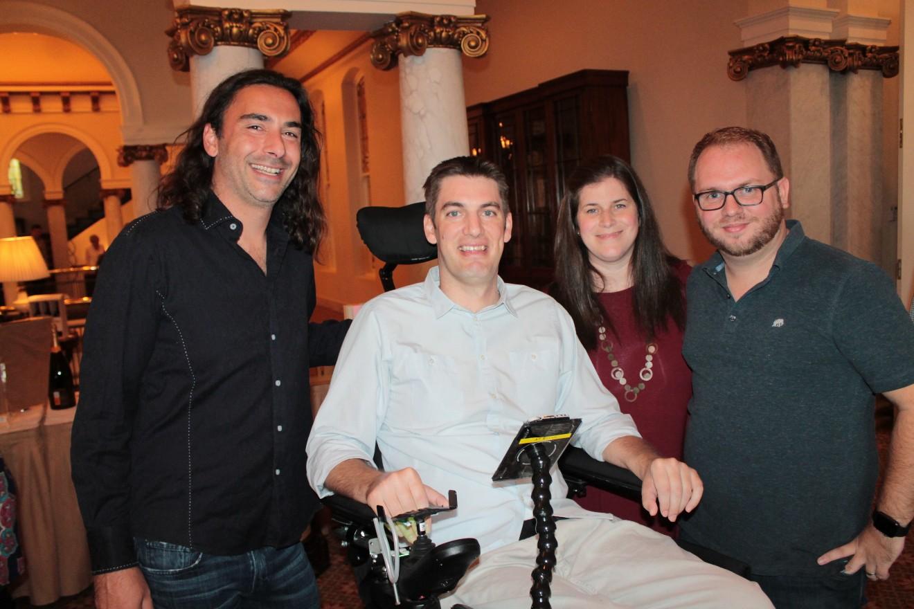 Alex Lallos, Ben Edwards, Brandi and Greg Henderson