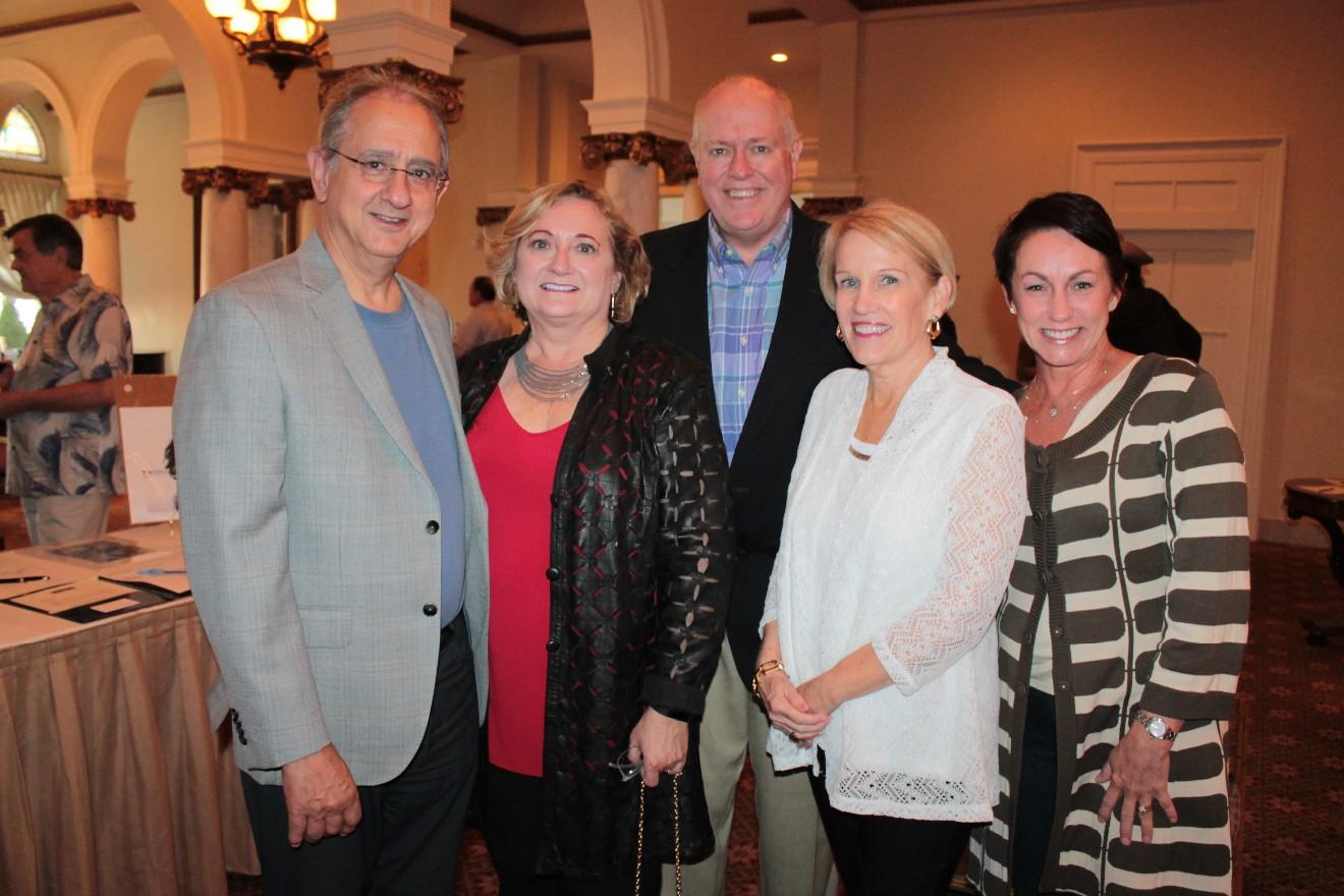 Dr. Steve and Ravonda Jones, Dr. Gary and Leslie Collins, Lorri (cq) Hambuchen