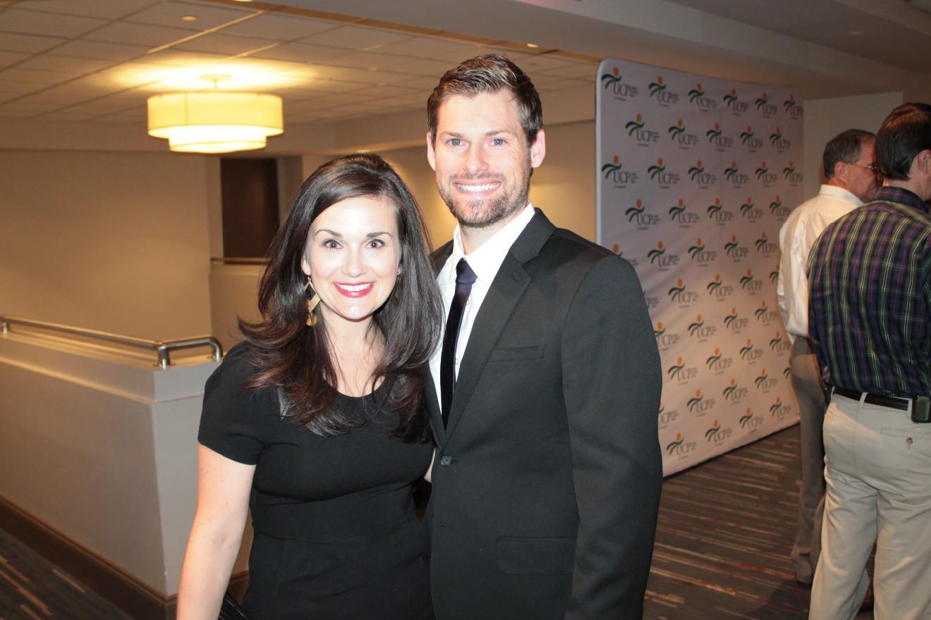Brooke and Jonathan Hayes