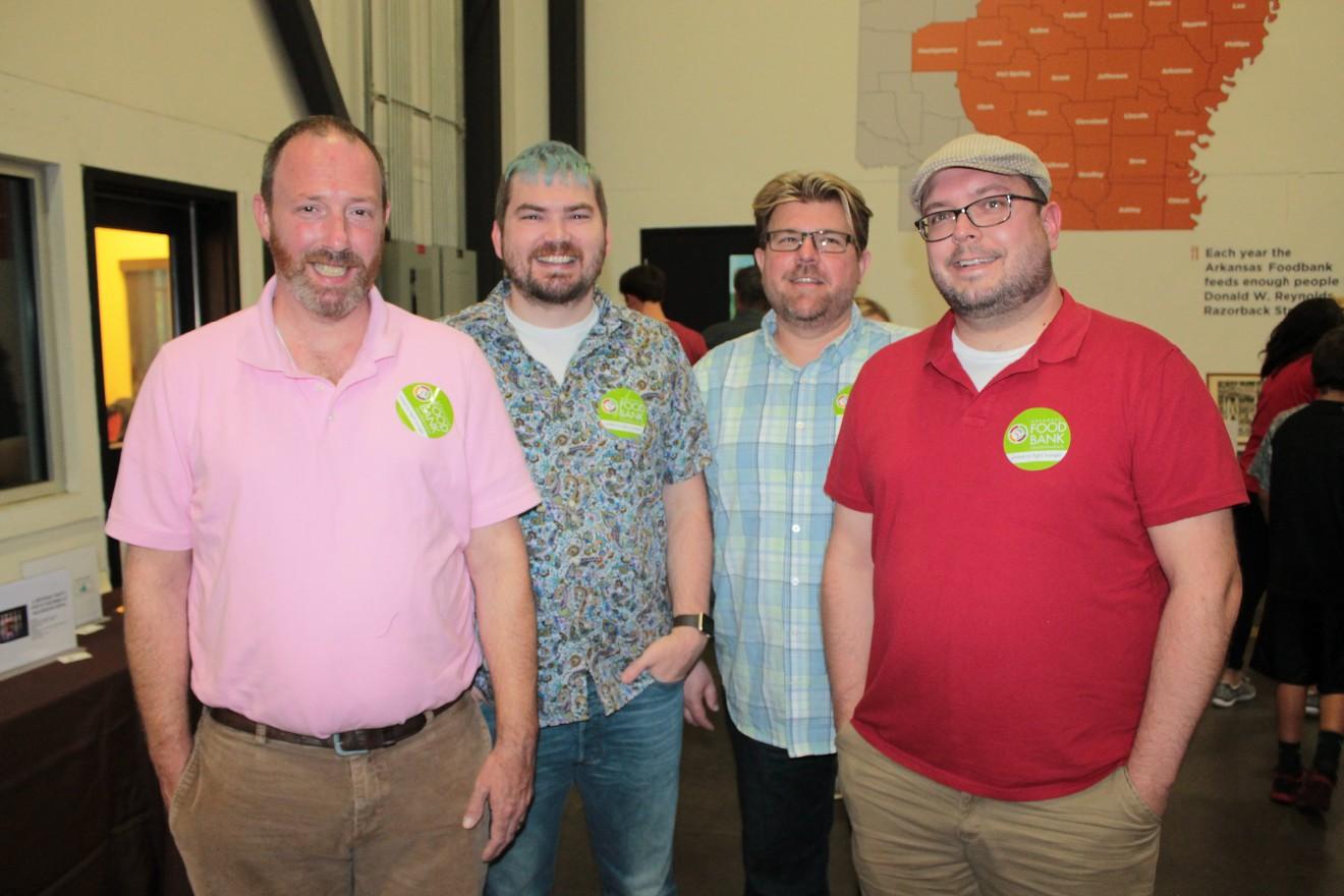 Daniel and Denies (cq) Matlock, Will Felton, Bryan Thomas
