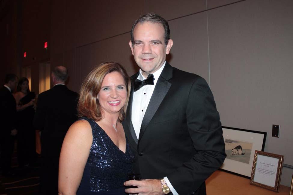 Meredith and Chris Johnson