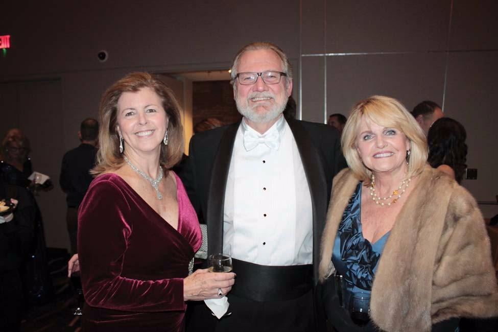 Cathy Browne, Van McClendon, Sandra Storment
