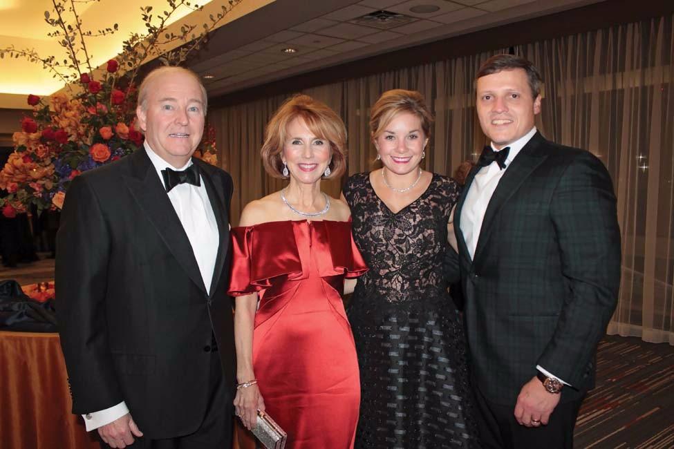 Chuck and Terri Erwin, Natalie and Win Rockefeller