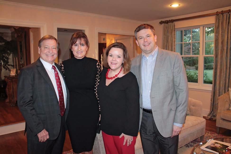 Robin and Margo Wynne, Bailey and Will Faulkne