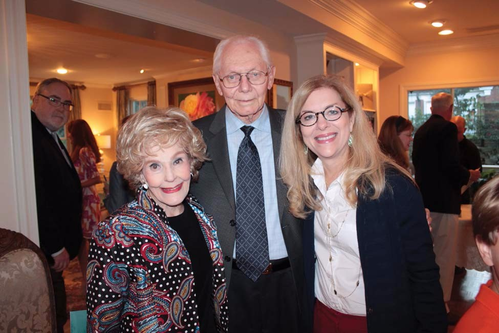 Joann and Garth Martin, Betsy Singleton Snyder.