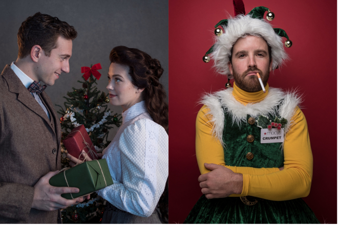 The Gift of the Magi, The Santaland Diaries, Arkansas Repertory Theatre, The Rep