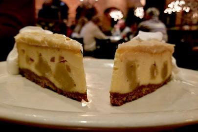 Recipe: White Chocolate Macadamia Cookie Dough Cheesecake from The Butcher Shop