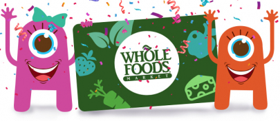 SPONSORED: Enter to Win a $500 Whole Foods Gift Card!