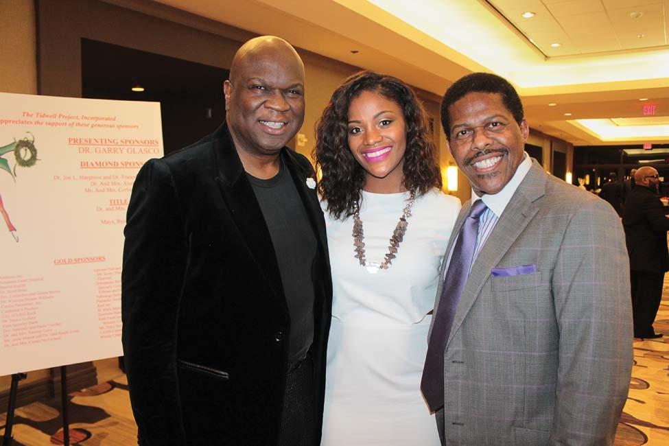 Virgil and Stephanie Miller, Dr. Garry Glasco