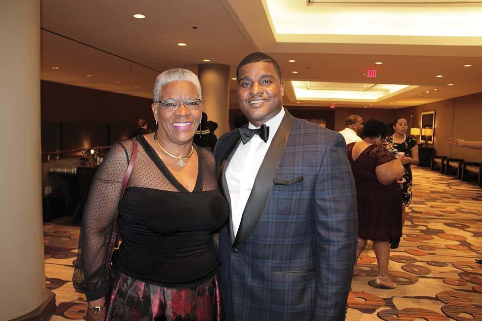 Glenda Woods, (and her son) John Woods