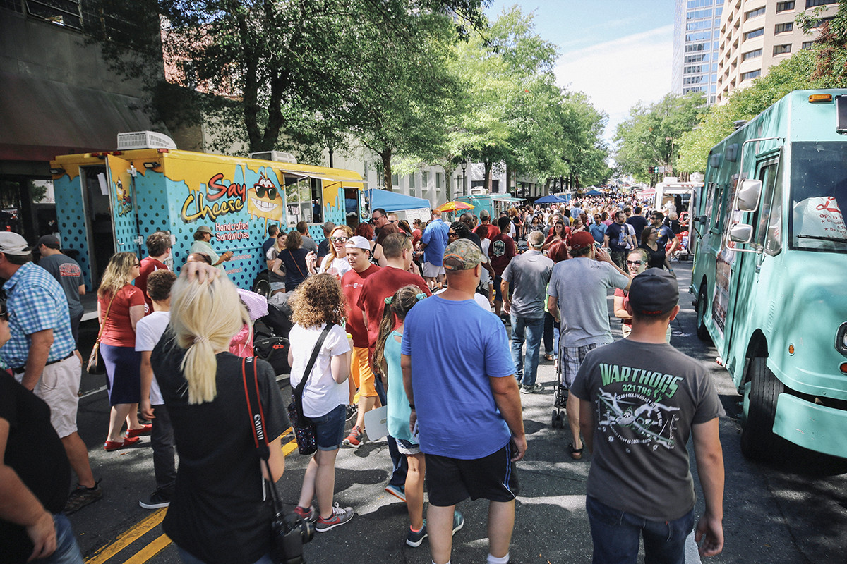 Capital Assets Life Main Street Food Truck Festival