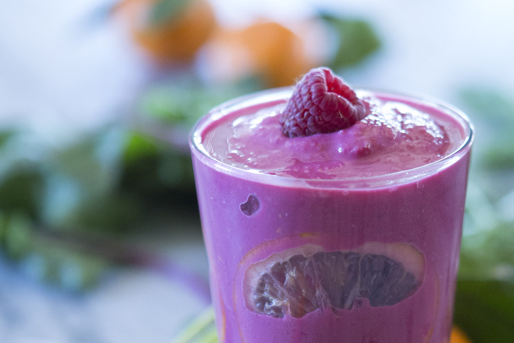 Recipe: Ruby Smoothie from P. Allen Smith