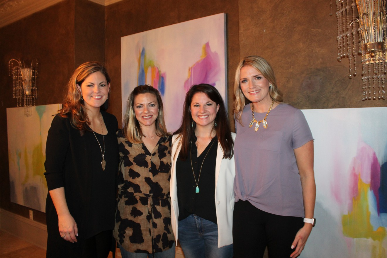 Emily Cobb, Jenn Cook, Vanessa Pritchard, Lauren Anderson