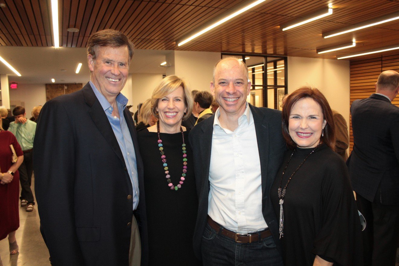 Greg and Dora Jane Flesher, Martin and Melissa Thom