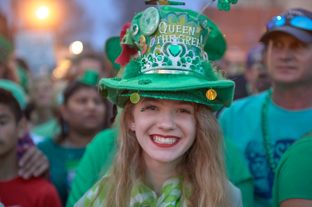 2018 Annual World's Shortest St. Patrick's Day Parade, Hot Springs