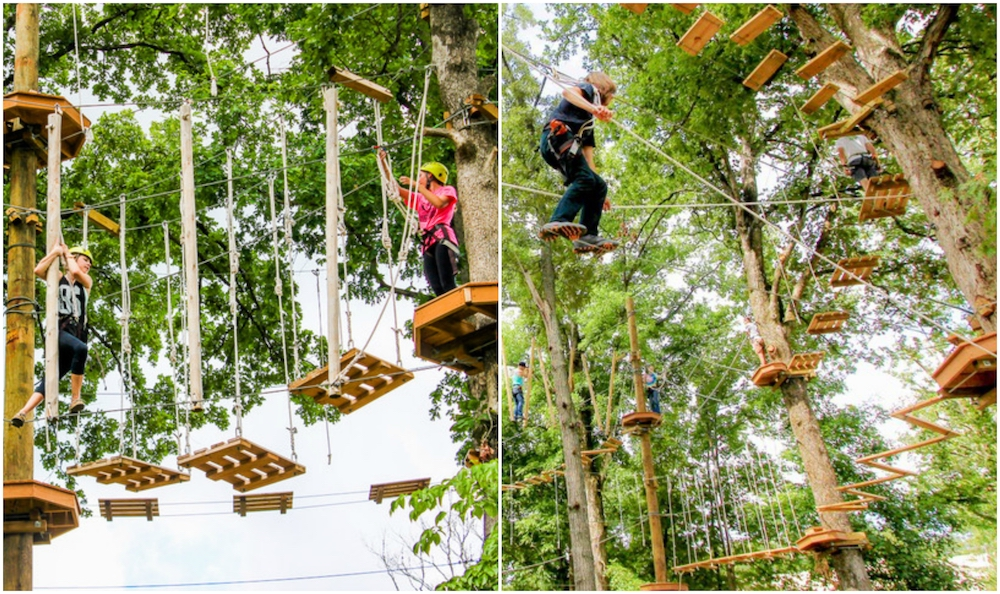 Adventureworks high ropes course
