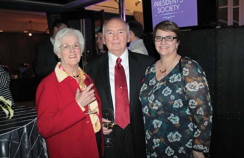 Glenda and Robert Schmidt, Mary Lackie