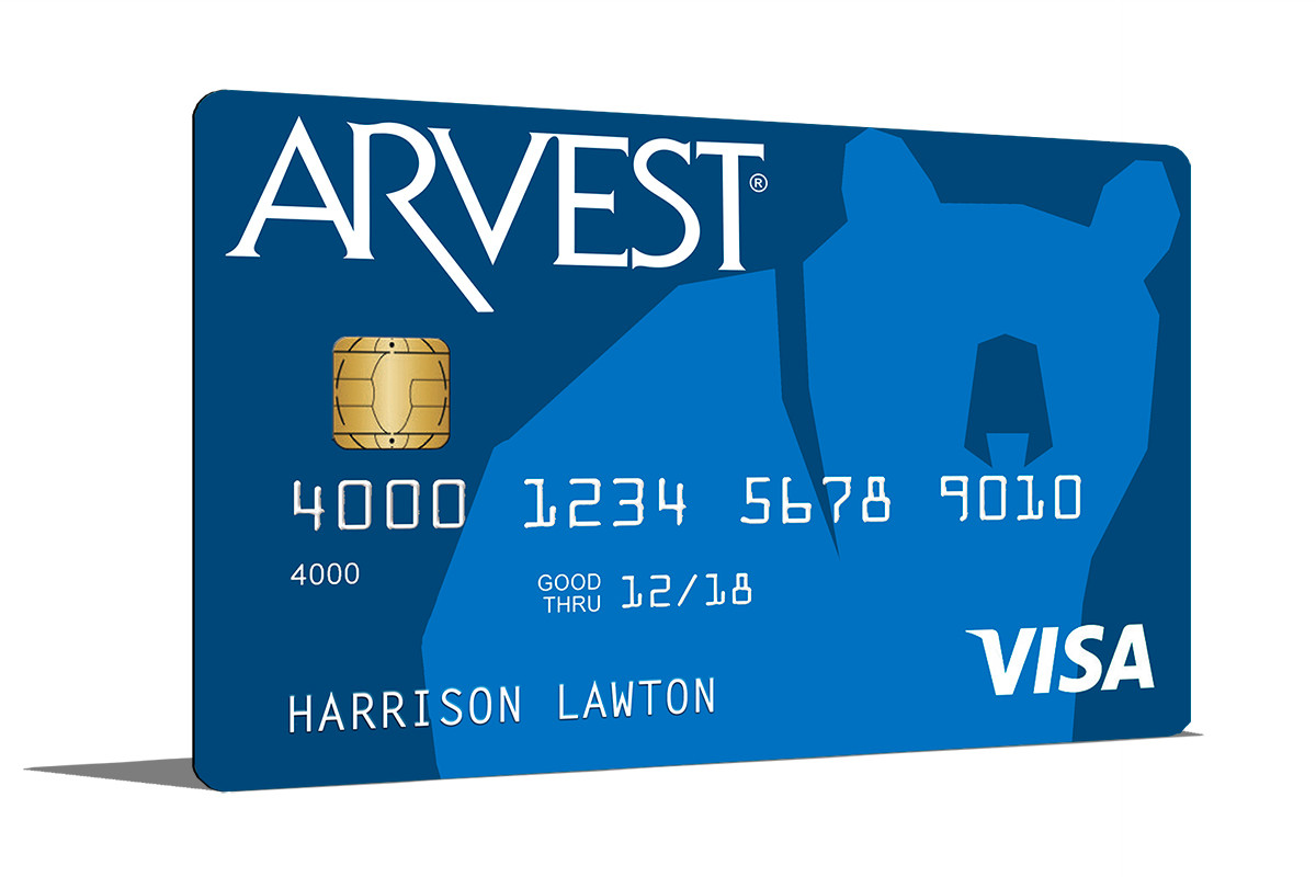 arvest credit card login