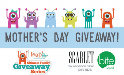 SPONSORED: Enter Our Mother's Day Giveaway: A Day at the Spa!