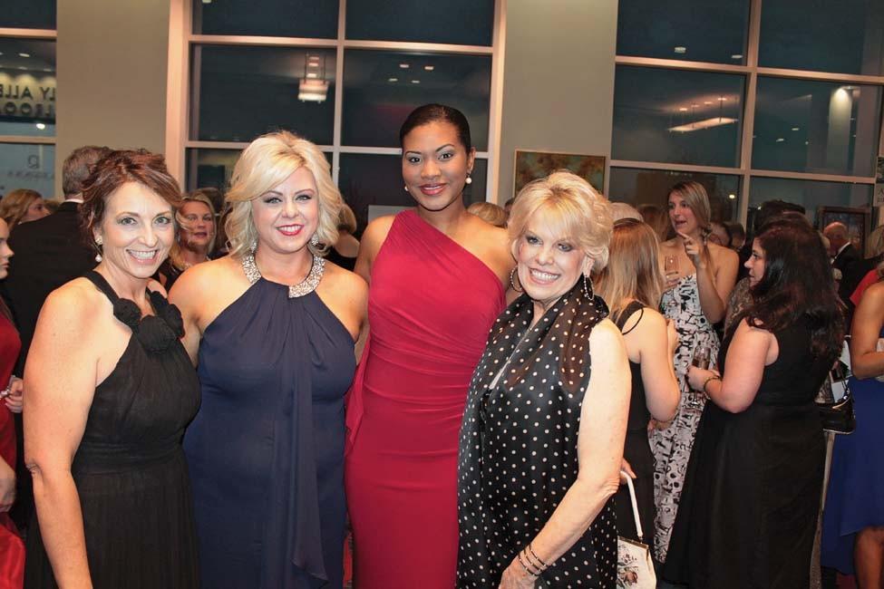 Beth Roberson, Laura Seagraves, Michelle DuVall, Marilyn Zornik