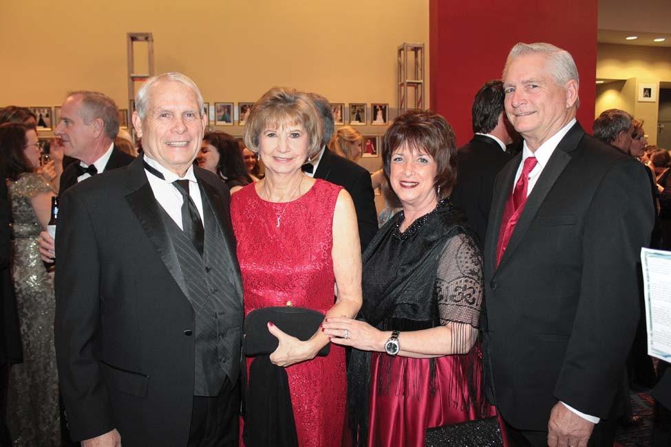 John Holtam, Jean McSweeney, Patti and Herb Holtam