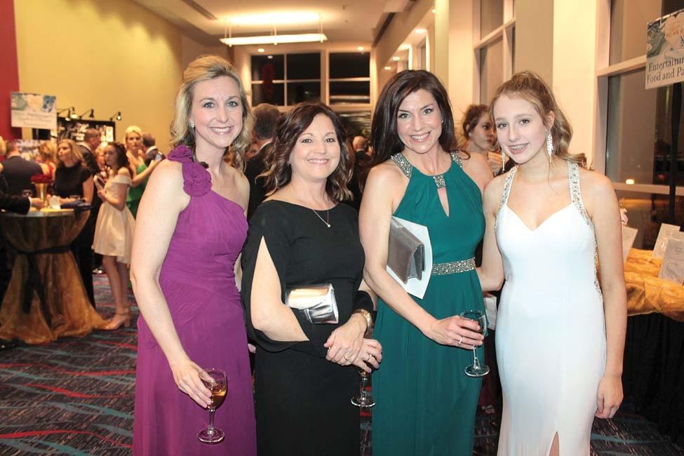 Nicole Schafer, Kim Wine, Erica Suskie, Carson Chappell