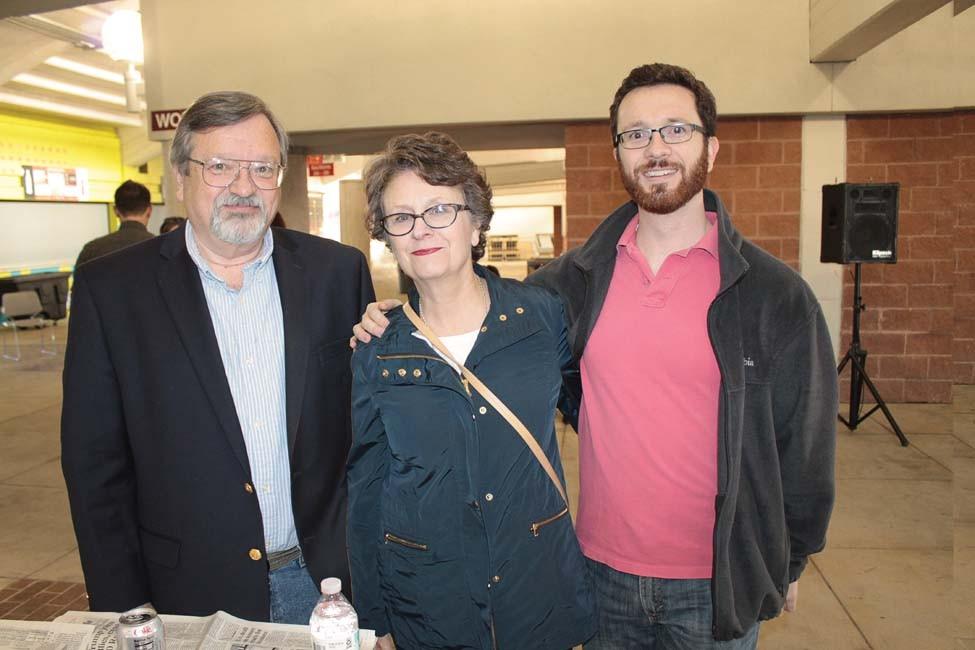 Lee Clark, Maureen Halligan, Patrick Clark
