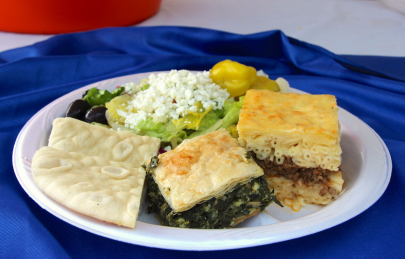 Recipe: Spanakopita from the International Greek Food Festival