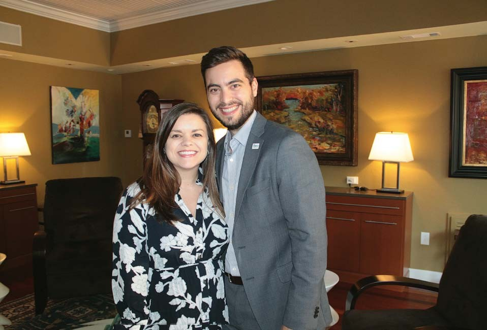 Ashley and Nick Leopoulos