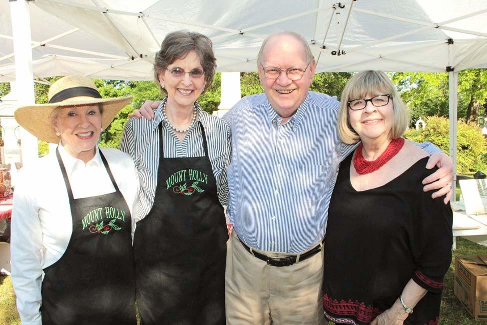 Nancy Phillips, Sissy and David Clinton, Georgann McKinney