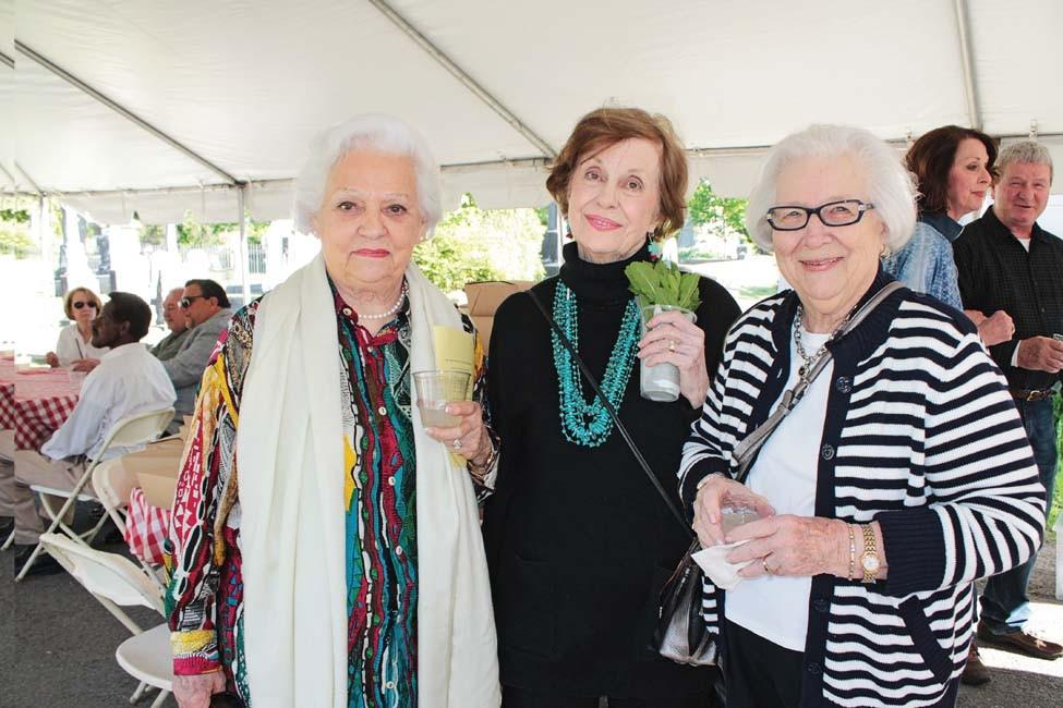 Carolynn Coleman, Nancy McDonough, Martha Sowell