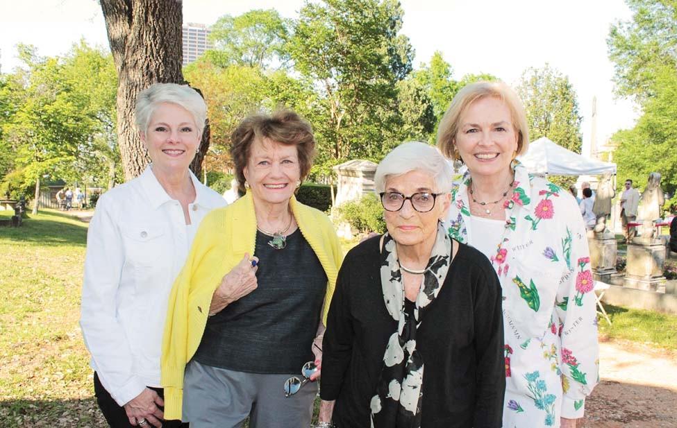 Julie Keller, Jean Lynn, Jane Wilson, Frances Cranford