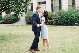 Taylor + Chance's Cute, Classy Little Rock Engagement