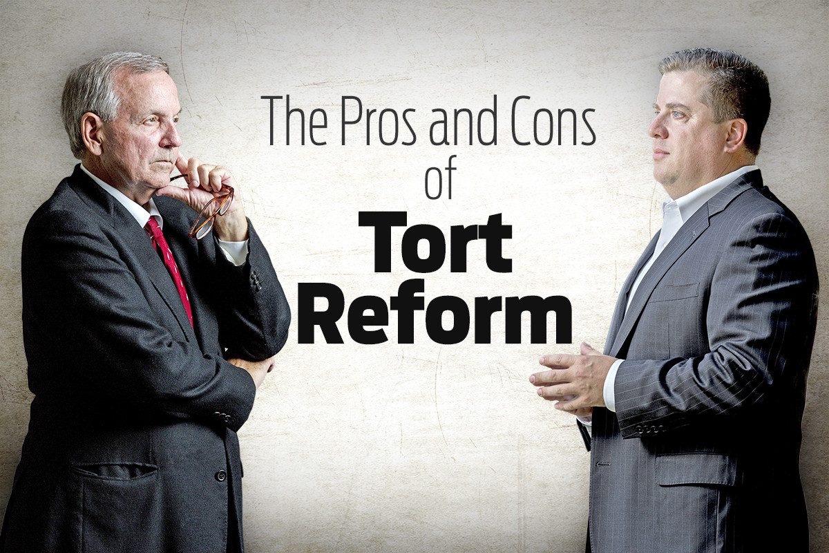 tort reform pros and cons The facts didn't have to square for the liebeck case to become the poster child of  the tort-reform movement that movement requires a narrative.