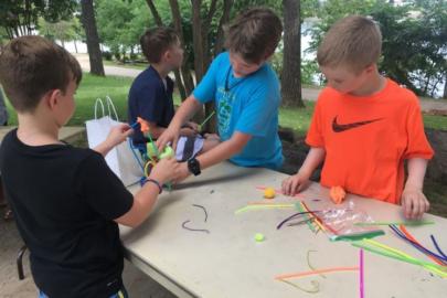 Kids Can Tour the Sculpture Garden at the River Market