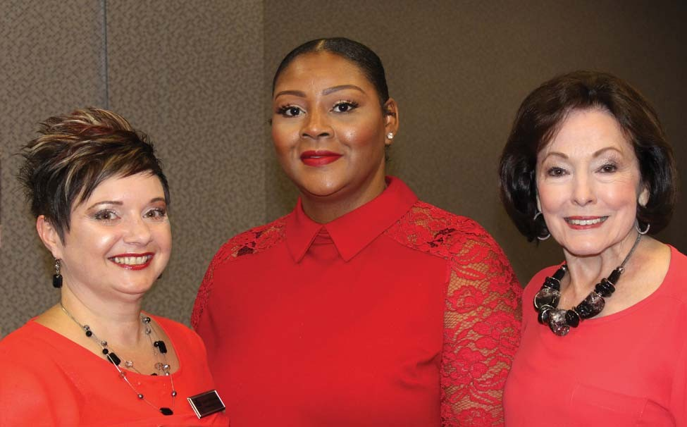 Janet Wilkinson, Shunice Stubblefield, Gloria Redman