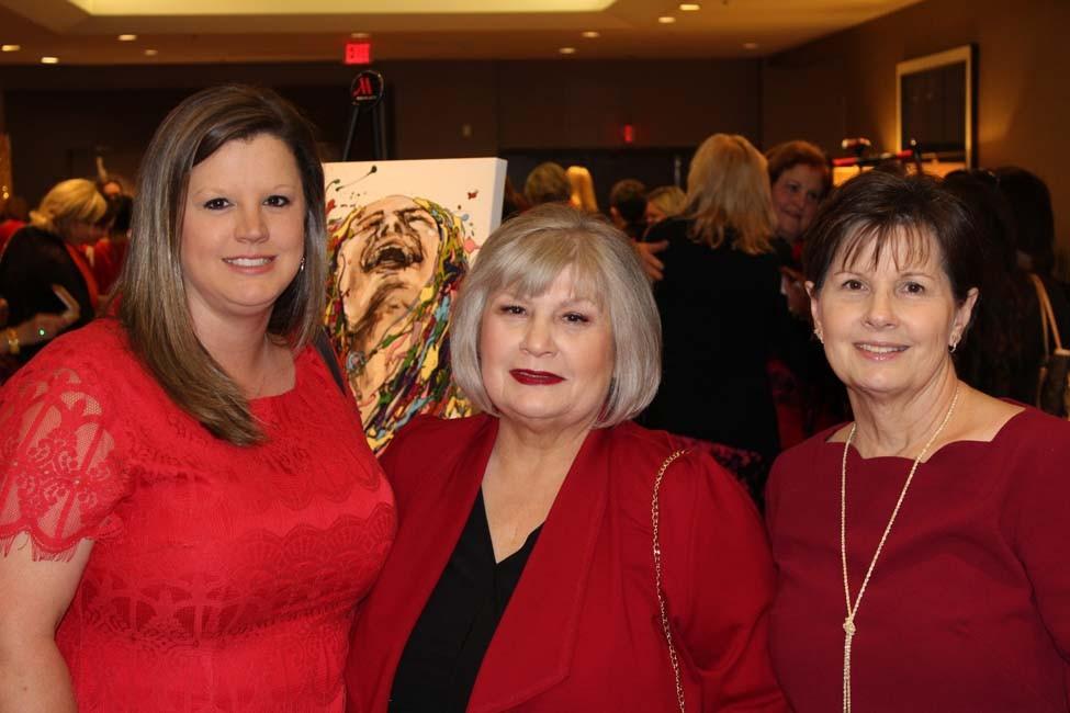 Ginny Duncan, Linda Garrett, Doris Sears